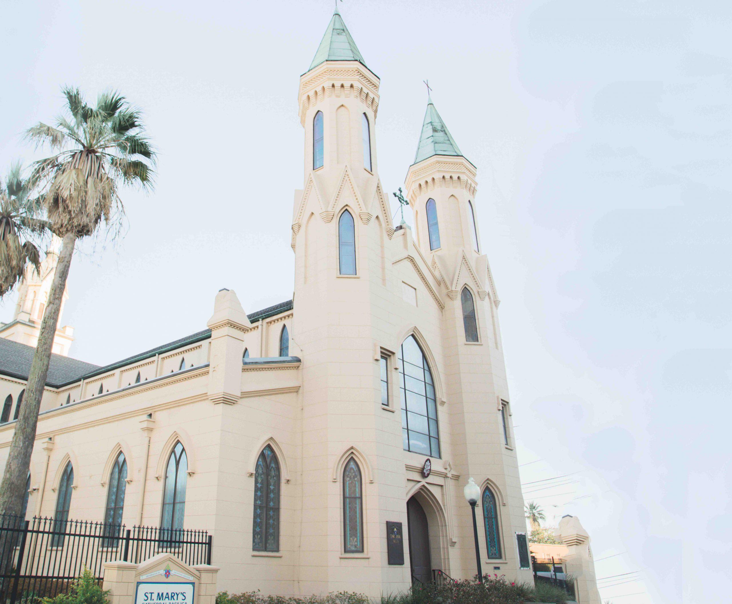St Marys Basilica in Galveston 2018